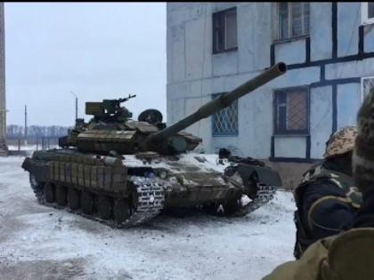 Уже больше недели не прекращаются бои вдоль линии разграничения между Украиной и самопровозглашенной ДНР // Стоп-кадр YouTube