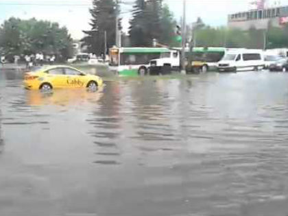 Потоп в Москве // YouTube