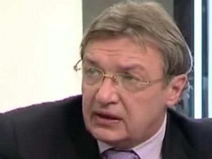Пресс-секретарь Управления делами президента РФ Виктор Хреков умер 28 сентября //  Стоп-кадр с телеканала «Дождь»