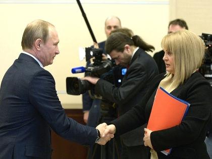 Владимир Путин и Элла Памфилова // kremlin.ru