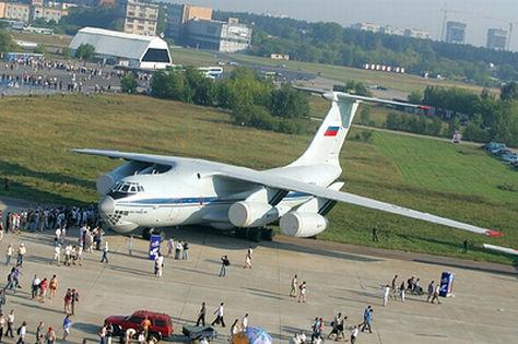 Ил-76 потерпел крушение // Черных Александр / Global Look Press
