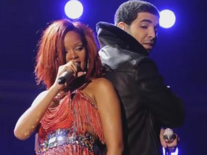 Рианна и рэпер Дрейк решили стать влюбленной парочкой // youtube.com/Clevver News