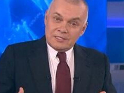 Дмитрию Киселеву не повезло со сменщиками в телеэфире? // стоп-кадр Youtube