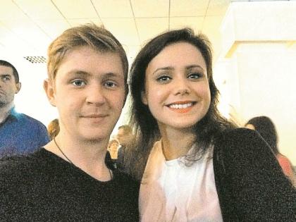 Александр Мельников с возлюбленной // из личного архива