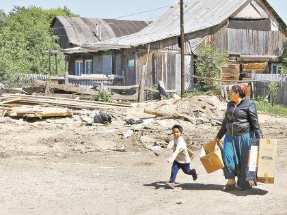 В Плеханово цыгане живут с 60-х годов и считают поселок своей родиной // Андрей Струнин / «Собеседник»