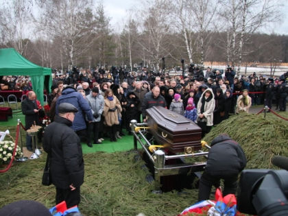 Похороны Бориса Немцова // Александр Алешкин / «Собеседник»