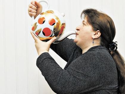 Чай для похудения // Андрей Струнин / «Собеседник»