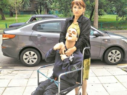 Лариса Холубкевич с сыном // Альфия Камилова