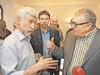 Спор Минкина и Жириновского едва не перешел в драку // Андрей Струнин / «Собеседник»