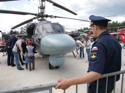 Военная техника пользовалась огромным успехом у посетителей // Александр Алешкин / «Собеседник»
