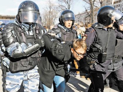 Мало кто ожидал, что 26 марта на акцию протеста выйдет так много молодежи // Андрей Струнин / «Собеседник»