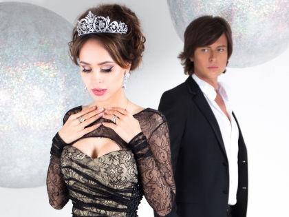 На свадьбе возлюбленные исполнят свою новую песню // Инна Алекперова / пресс-служба Прохора Шаляпина