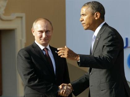Владимир Путин и Барак Обама // Russian Look
