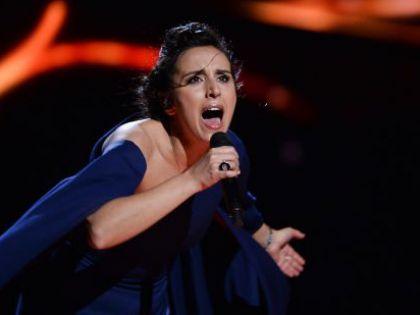 "Джамала на ""Евровидении-2016"" // Britta Pedersen/dpa/Global Look Press"