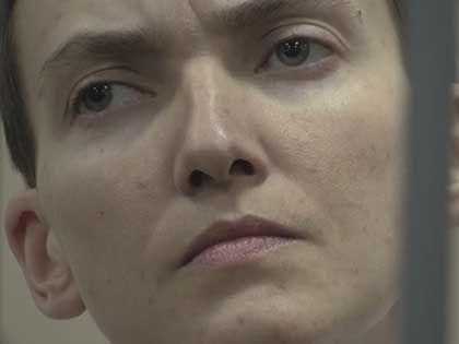 Надежда Савченко голодает с 13 декабря  // кадр Youtube.com
