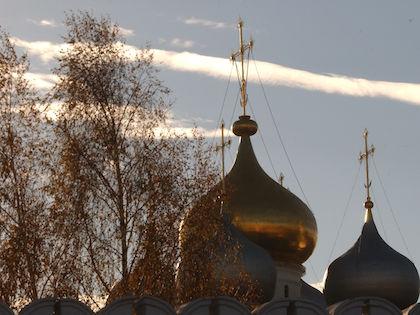 О пожаре в Новодевичьем монастыре стало известно 15 марта в 22:41 //  Антон Кавашкин / Russian Look