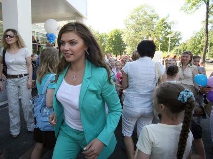 Олимпийская чемпионка 2004 года Алина Кабаева //  Russian Look