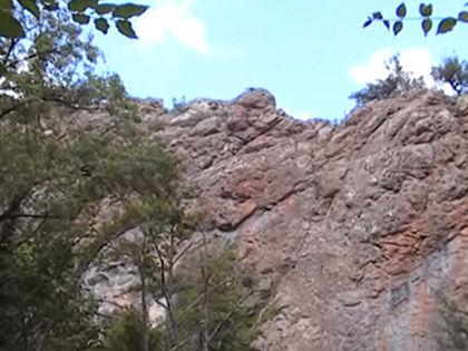 Трагедия произошла в районе Чернореченского каньона // Кадр Youtube