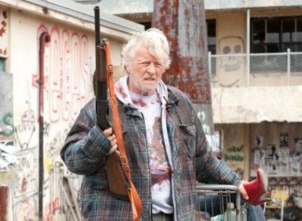 Актер Рутгер Хауэр в боевике «Бомж с дробовиком» // kinopoisk.ru