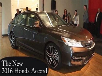 Honda Accord 2016 // Скриншот видео с Youtube