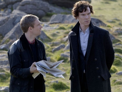 Кадр из сериала «Шерлок» // kinopoisk.ru