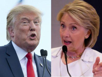 Дональд Трамп и Хиллари Клинтон // Global Look Press
