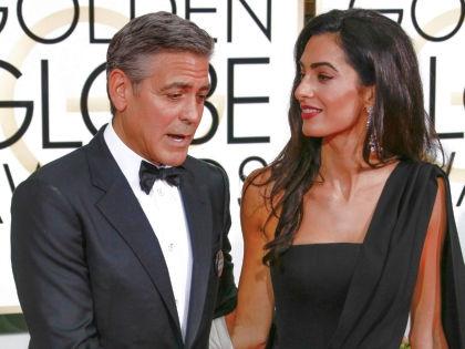 Джордж Клуни и Амаль Аламуддин // Global Look Press