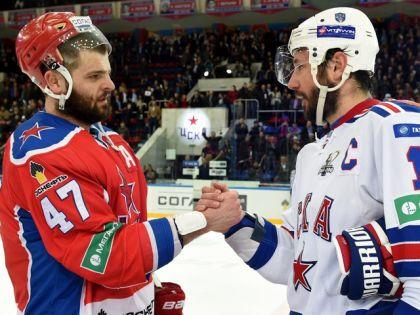 Илья Ковальчук и Александр Радулов // Официальный сайт КХЛ