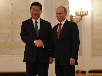 Си Цзиньпин и Владимир Путин // Russian Look