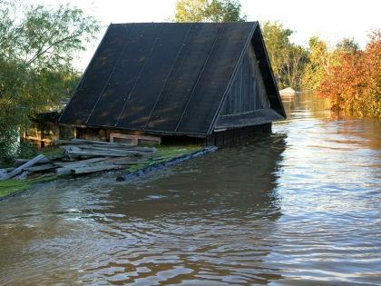2 октября город Корсаков, который находится на юге Сахалина, затопило нагонной волной с моря //  Russian Look