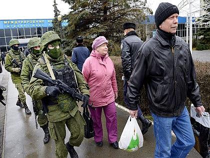 Российские войска в Крыму // Russian Look