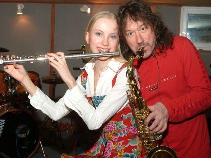 Владимир Кузьмин с женой Екатериной // Анатолий Ломохов