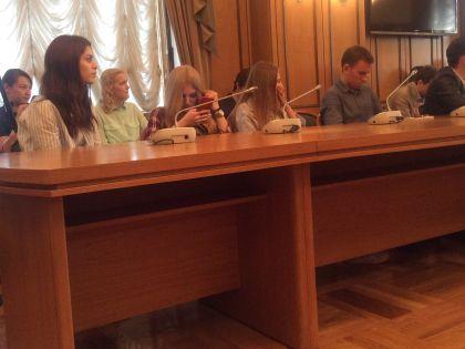 Блогеры в Госдуме на втором заседании своего совета // Ганненко Валерий / Sobesednik.ru