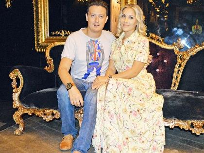 Стас Ярушин с женой // Альфия Камилова