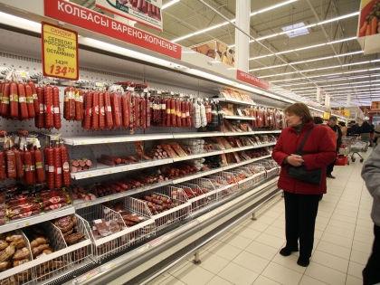Пока во всем мире цены на продукты падают, в России – стремительно растут. // Наталья Логинова / Russian Look