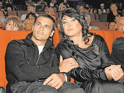 Лолита Милявская с мужем // Global Look Press