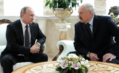 Лукашенко и Путин // Global Look Press