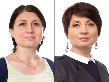 Людмила до и после преображения // Александр Крофт (студия «Фотоколледж»)