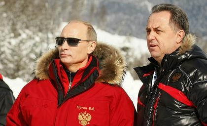 Президент РФ подарил министру спорта на день рождения подарок с намеком // Global Look Press