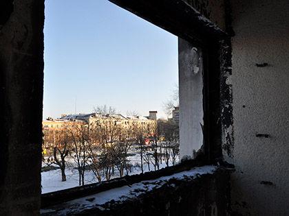 По данным ОБСЕ, обстрел города вёлся с территории ДНР // Милан Сиручек / Global Look Press