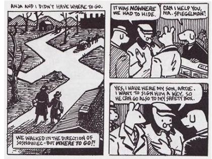 Остроумнейший комикс Арта Шпигельмана «Маус» уходит в тень накануне Дня Победы // Фрагмент из книги Maus