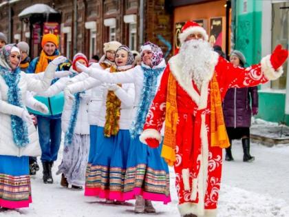 В Екатеринбурге будут судить Деда Мороза – за нарушение положений из «пакета Яровой» // Стоп-кадр YouTube