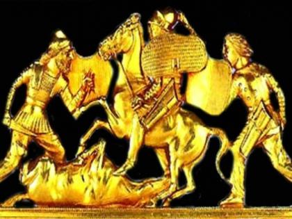 Суд Амстердама постановил вернуть «гастролировавшее» по Нидерландам золото скифов из крымских музеев в Киев // Стоп-кадр YouTube