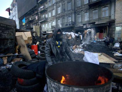 Площадь Независимости в Киеве //