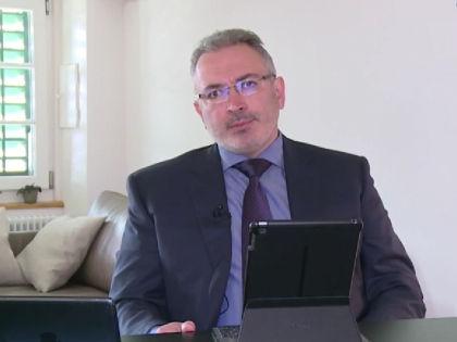Михаил Ходорковский поприветствовал арест российского имущества // Кадр YouTube