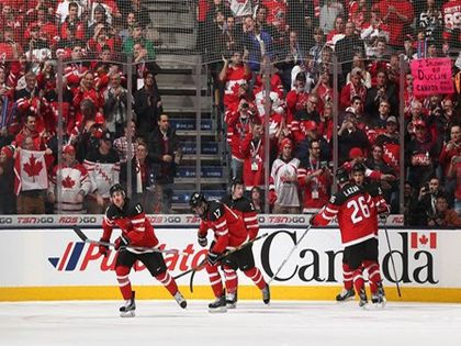 Репортаж о финальном матче молодежки-2015 Россия - Канада // IIHF