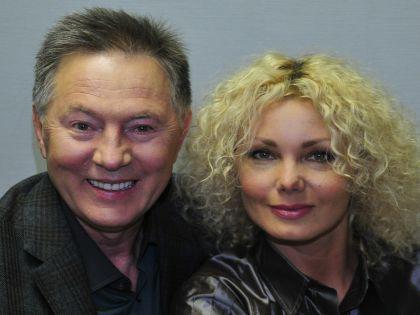 Евгений Меньшов с женой Ольгой Грозной // Russian Look