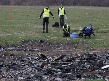Катастрофа рейса MH17 произошла 17 июля прошлого года в Донбассе // Global Look Press