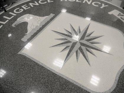 Эмблема ЦРУ США на полу одного из залов в штаб-квартире ведомства // Olivier Douliery / Global Look Press