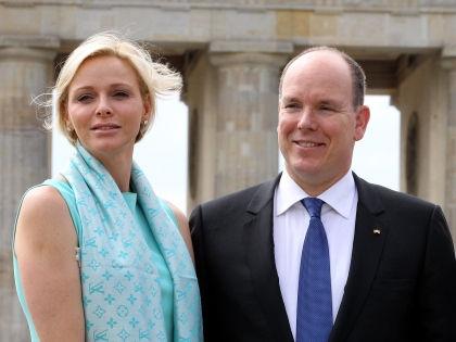 Шарлен Уиттсток и Альбер II // Global Look Press